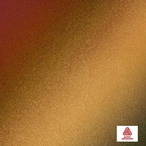 Rising Sun red- Gold Gloss avery Dennison Color flow™