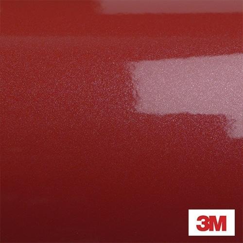 Vinilo Rojo Brillo Metálico 3M serie 1080 color G203