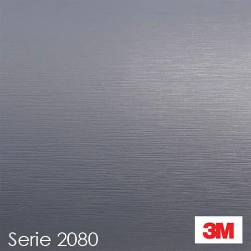 Vinilo Aluminio Cepillado 3M serie 2080 BR120