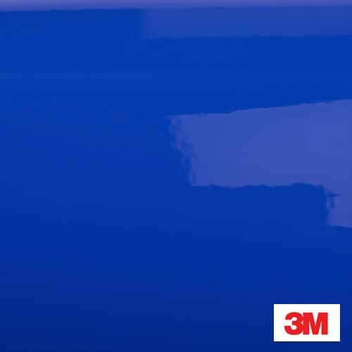 Vinilo Azul Intenso Brillo 3M G47