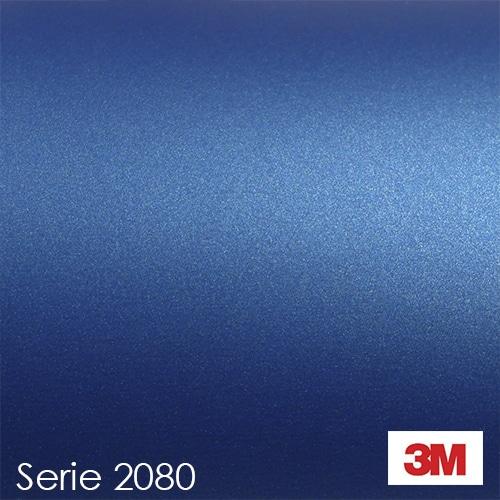 Vinilo Azul Mate Metalizado 3M 2080 M227