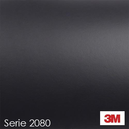 Vinilo Negro Mate M12 3M 2080