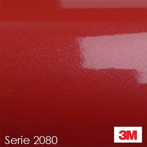 Vinilo Rojo-Brillo-Metalico--3M-2080-G203-