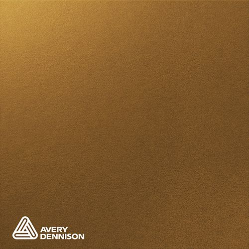 Gloss Metallic Gold Avery Dennison Supreme Wrapping Film