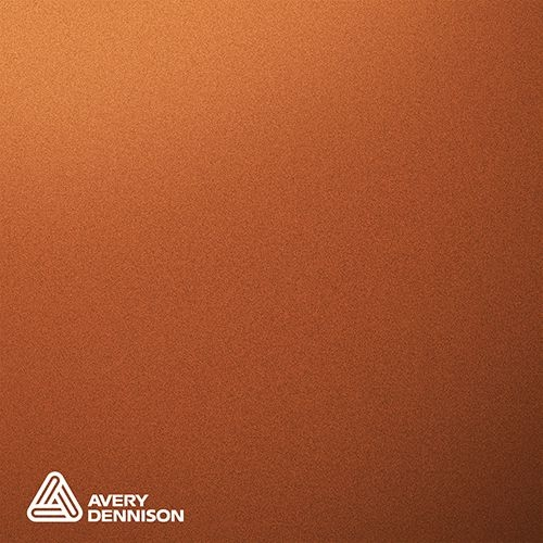 Matte Metallic Blaze Orange Avery Dennison Supreme Wrapping Film