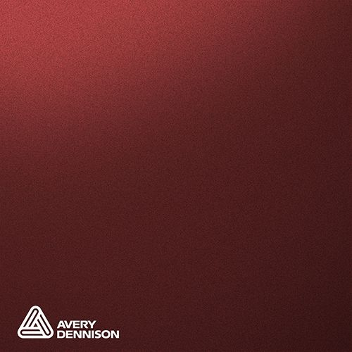 Matte Metallic Cherry Avery Dennison Supreme Wrapping Film