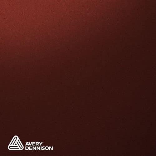 Matte Metallic Garnet Red Avery Dennison Supreme Wrapping Film
