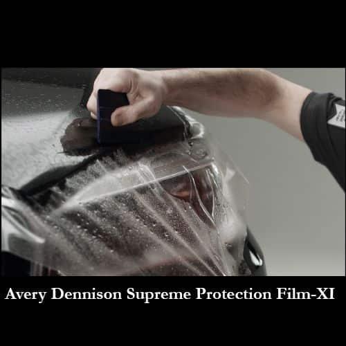 Avery Dennison Supreme Protection Film-XI en vehículo