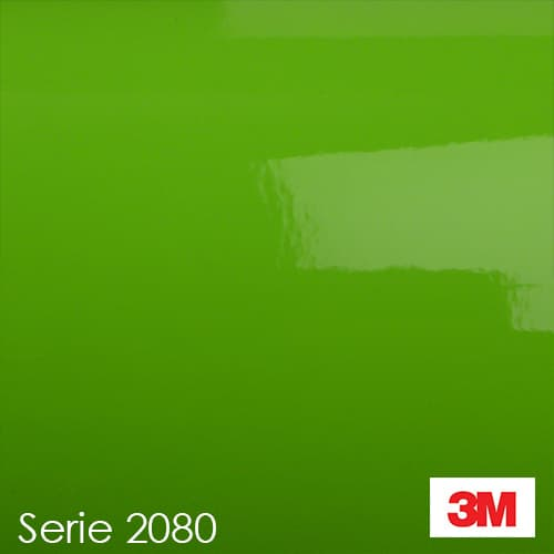 Vinilo-Gloss-Green-light 3M-serie-2080